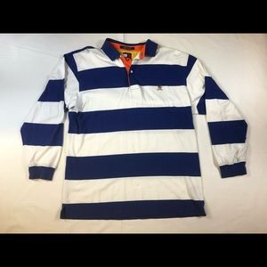 Tommy Hilfiger rugby long sleeve thick stripe